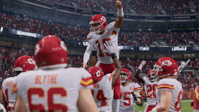 Madden 22 team ratings best teams in the nfl