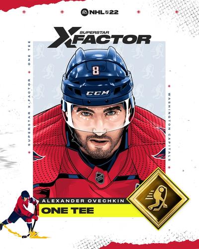 NHL 22 Alexander Ovechkin ratings