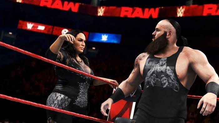 WWE 2K20 Gameplay Tag Team