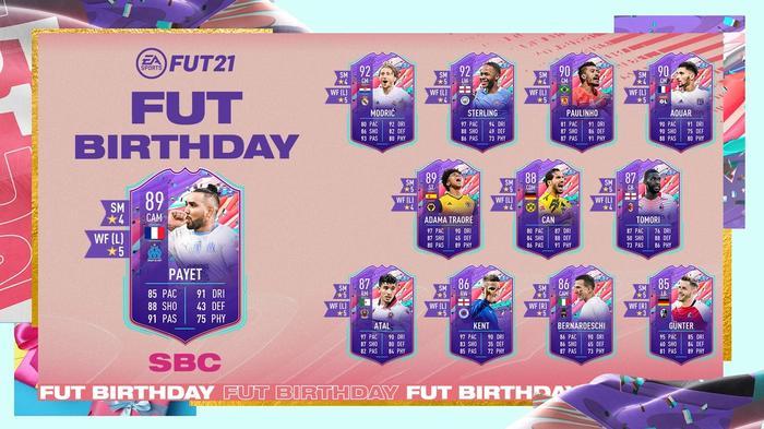 FIFA 21 FUT Birthday SBC Dimitri Payet Ultimate Team