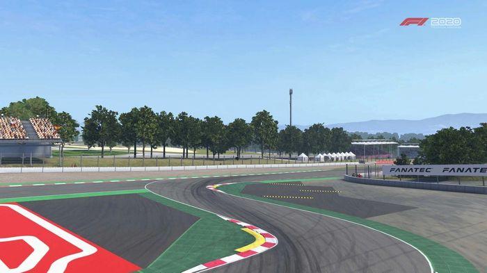F1 2020 Spain turn 14 15 Y