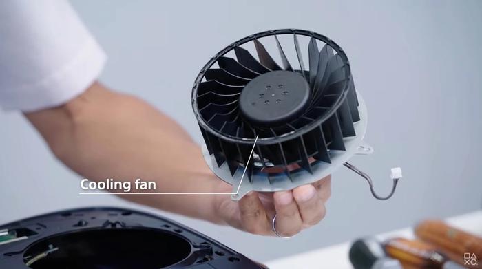 ps5 cooling fan
