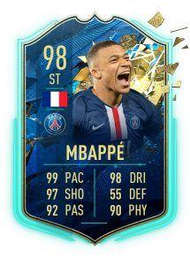 MBAPPE fifa 20 totssf