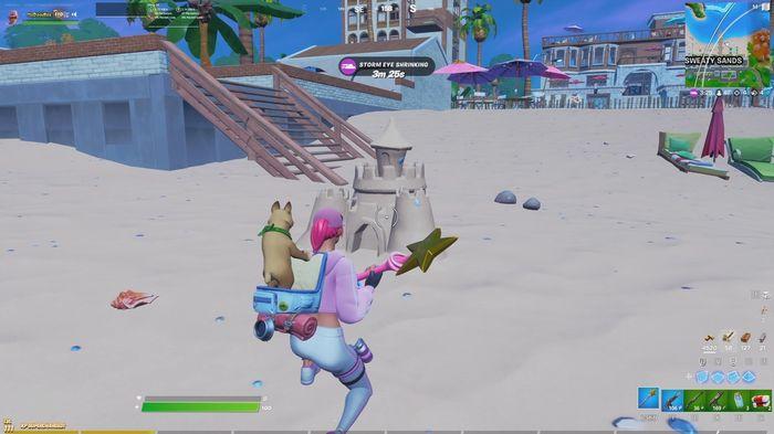 Fortnite Season 6 Week 10 Build Sandcastles
