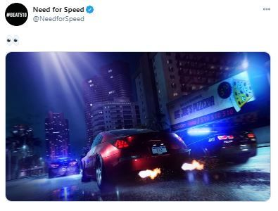 need for speed hot pursuit tweet