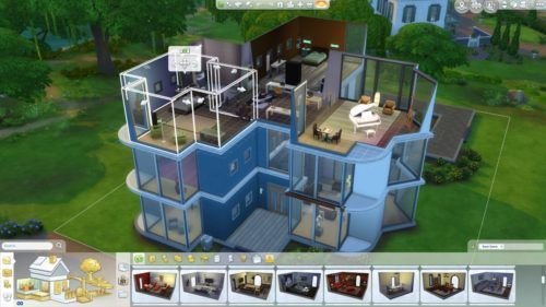 Sims 4 build mode