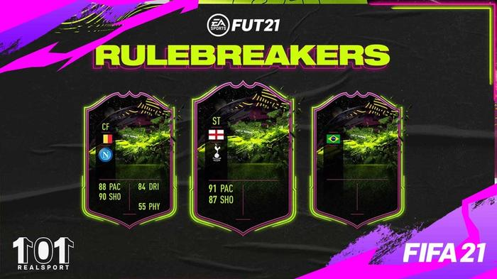 FIFA 21 Rulebreakers Reveals Dries Mertens Harry Kane