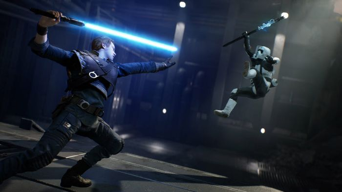 THE CHOSEN ONE: Star Wars Jedi: Fallen Order became an instant smash hit when it was released in 2019.