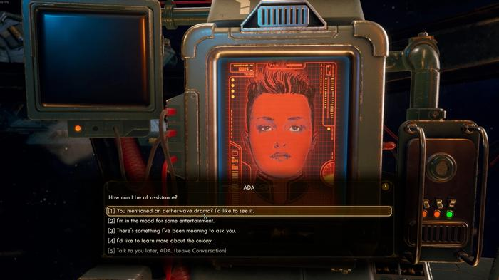 The Outer Worlds Murder on Eridanos Ship AI