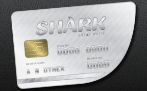 gtaV great white shark card