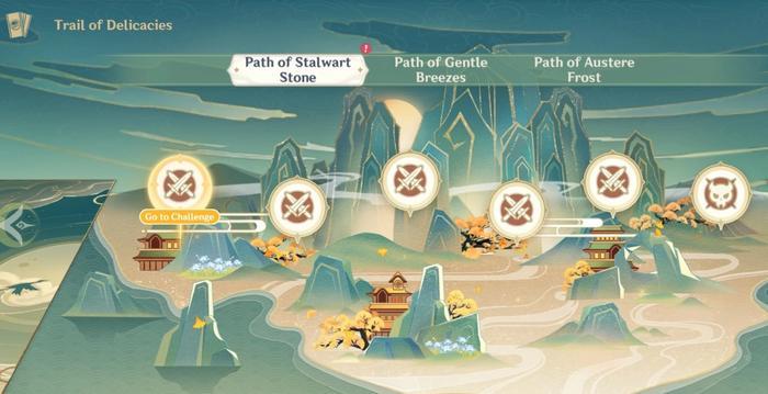 Path of Stalwart in Genshin Impact