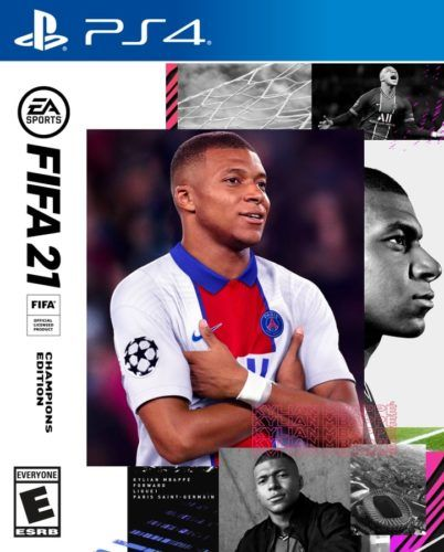fifa 21 cover mbappe