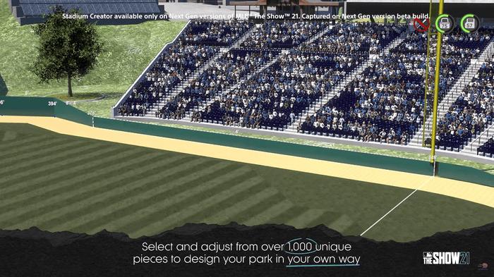 MLB The Show 21 Stadium Creator trailer screenshot