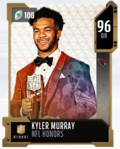 Kyler Murray NFL honors mut