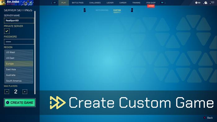 Splitgate Custom Matches