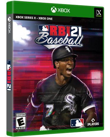 RBI Baseball 21 Release Date cover