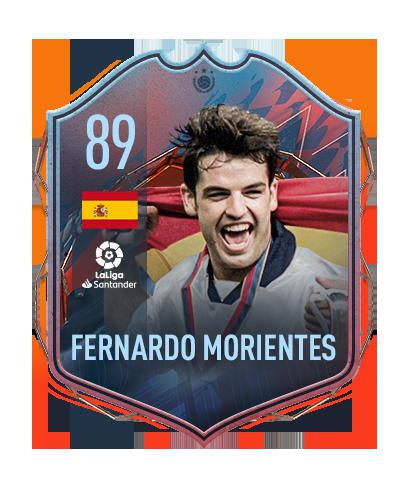 FIFA 22 FUT Heroes Fernando Morientes Fernardo