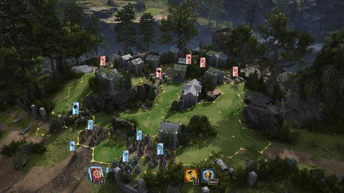 King's Bounty 2 Camp Battle