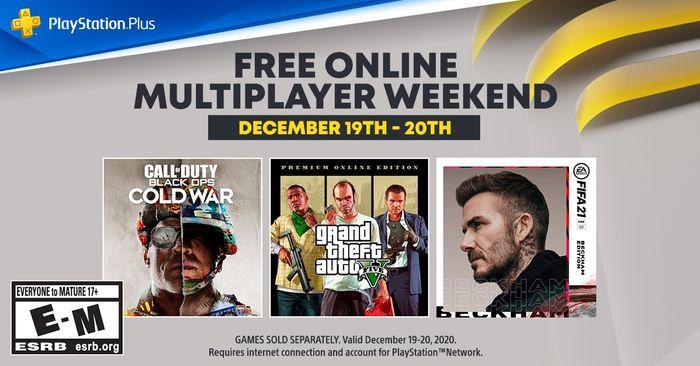 PS Free Online Weekend December 2020