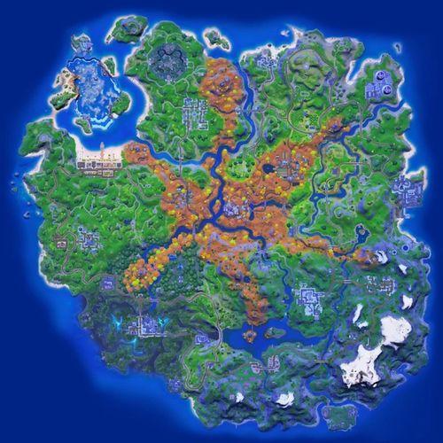 Fortnite Season 6's Map