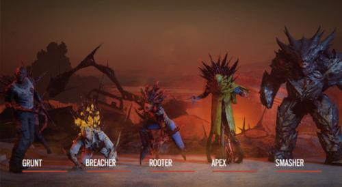r6 quarantine zombie types