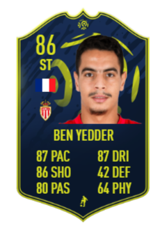 Wissam Ben Yedder Sepcial Cards
