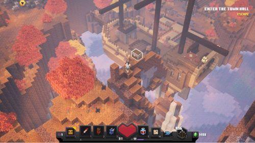 punpkin minecraft dungeons
