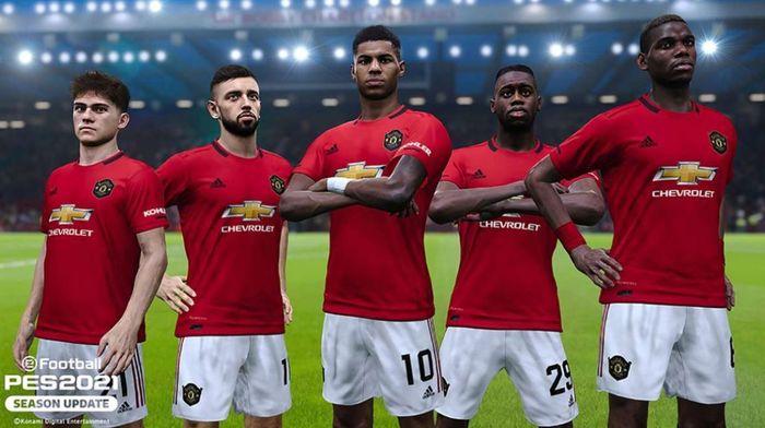 pes 2021 man united