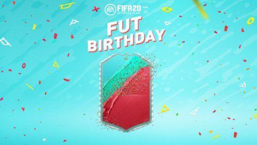 fut birthday card design fifa 20