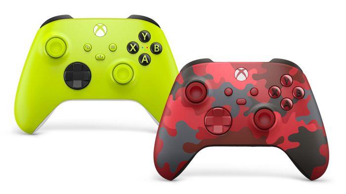 Xbox News Today Wireless Controller Electro Volt Red Camo