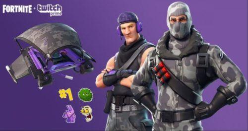fortnite twitch prime free skins
