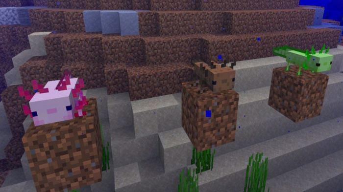 Minecraft 1.17 Caves and Cliffs Update Beta Download