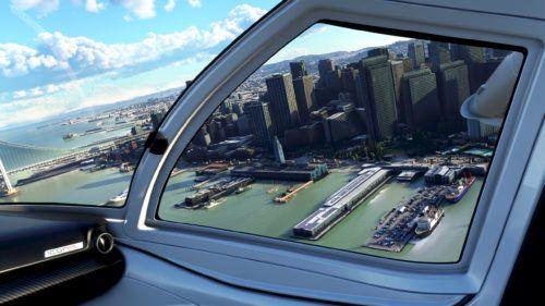 microsoft flight simulator city cockpit