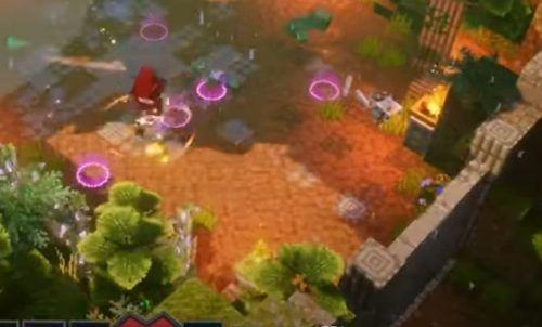 Minecraft Dungeons Jungle Awakens panda plateau 3 1