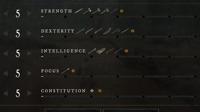 New World Weapon Scaling Attributes