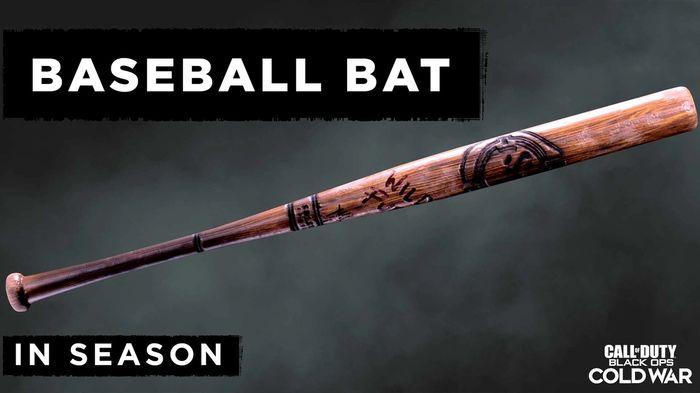 Black Ops Cold War New Season 3 Weapons Baseball Bat Melee