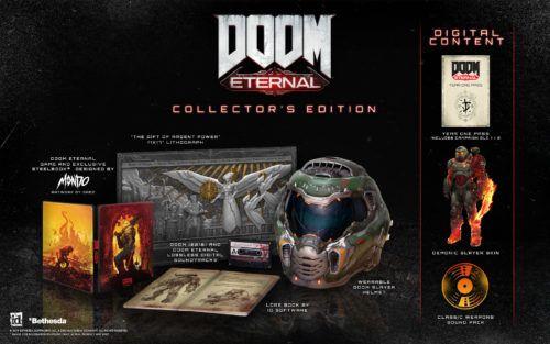 Doom Eternal's collector's edition bundle