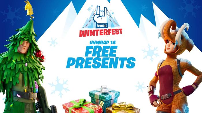 Fortnite Winterfest 2019 With Presents and Challenges Begins