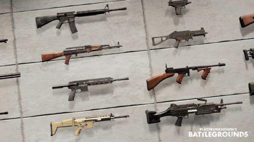 PUBG Mobile new guns