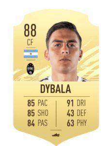 Dybala fifa 21