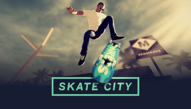 Skate City Key Art