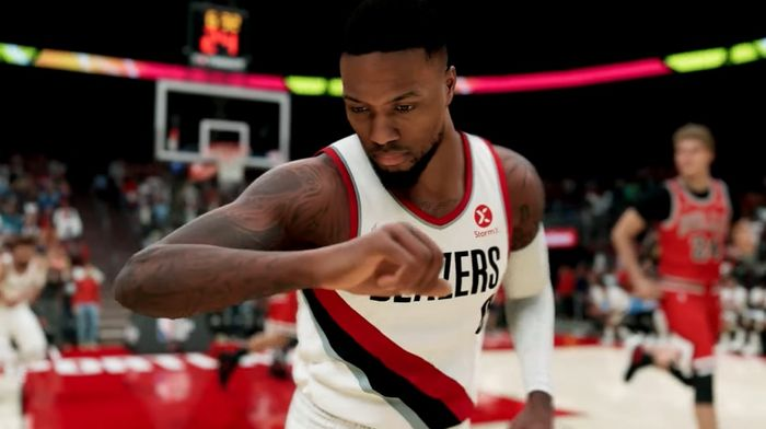 Damien Lillard in NBA 2K22