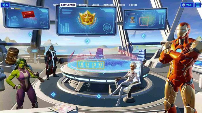 Fortnite Galactus Event Countdown Battle Pass Screen