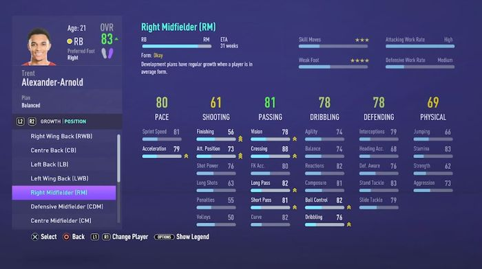 fifa 21 career mode positional changes