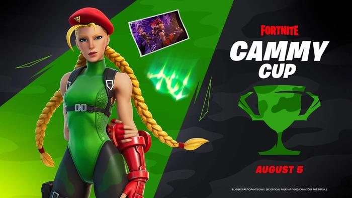 Fortnite Cammy Cup Prizes