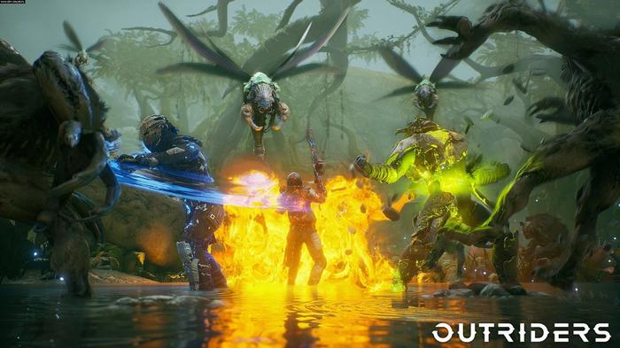 Outriders How To Heal Multiplayer Fire Combat