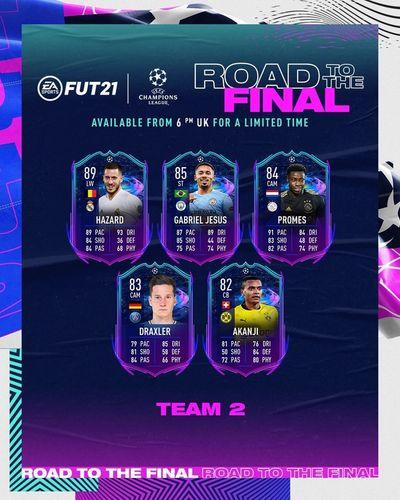 fifa 21 rttf team 2 ucl