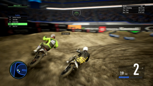 In-game action from Monster Energy Supercross 3