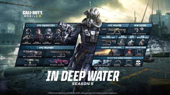 COD Mobile Season 5 Roadmap