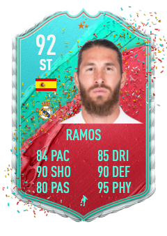 fifa 21 fut birthday Sergio ramos prediction